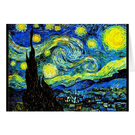 Notecard-Classic/Vintage-Vincent Van Gogh 7 Card