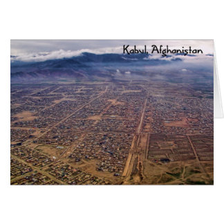 Notecard:  Kabul from above Card