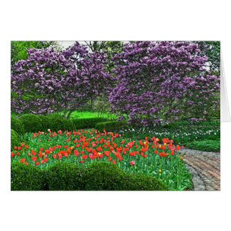 """notecard/""""SPRING BURSTING OUT ALL OVER"""" Card"""