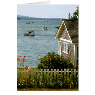 Notecard Stonington, Maine