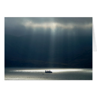Notecard: Sunlit Boat Card