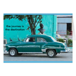 NOTECARD-THE JOURNEY IS THE CARD