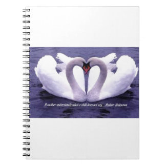 Notepad for mom spiral notebook