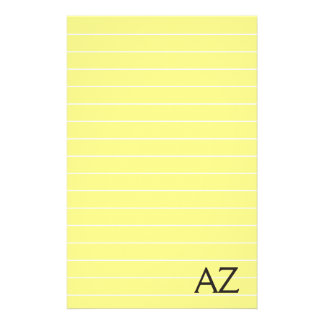 Notepad for your group stationery