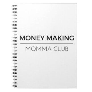 Notepad - Money Making Momma Club Notebook