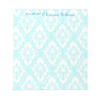 Notepads - Turqouise Lace