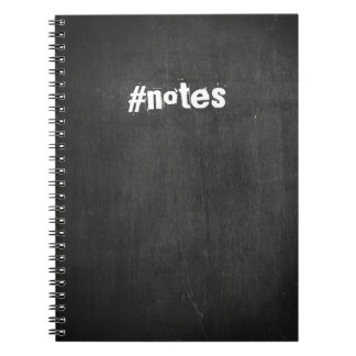 #notes Chalkboard Notebook
