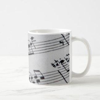 Notes Coffee Mug