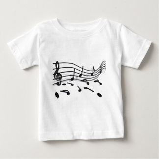 Notes, music baby T-Shirt