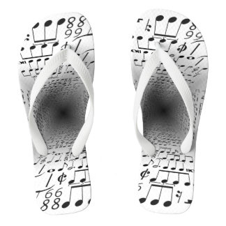 Notes of music thongs