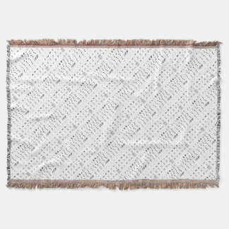 Notesai Throw Blanket