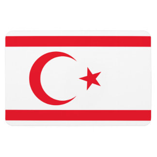 Nothern Cyprus Flag Rectangular Photo Magnet