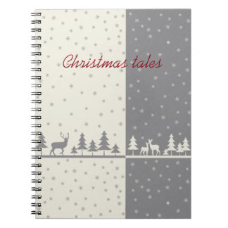 Nothern land - Christmas cards & more Spiral Note Books