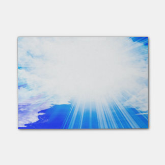 Nothin' but Blue Sky Post-it Notes