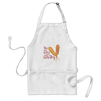 Nothin But Corn Dog Standard Apron