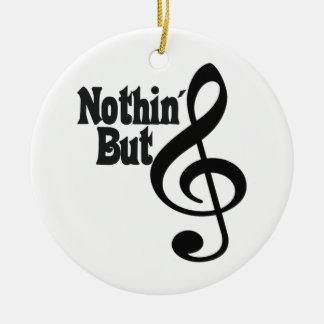 Nothin' But Treble Ceramic Ornament