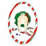 Nothin' Butt A Pug Christmas Ornament