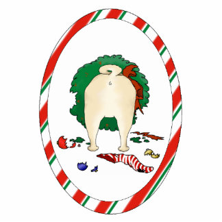 Nothin' Butt A Pug Christmas Ornament Photo Sculpture Decoration