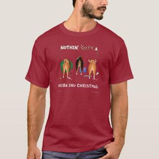Nothin' Butt A Shiba Inu Christmas T-Shirt