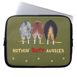 Nothin' Butt Aussies Laptop Sleeve
