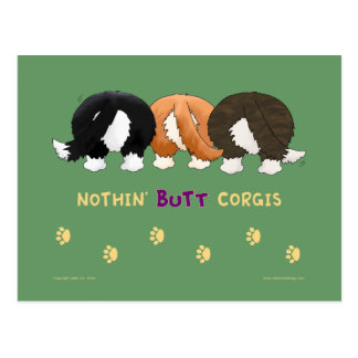 Nothin' Butt Corgis PostCards