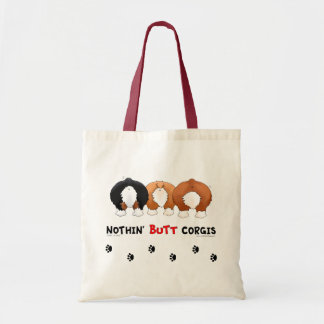 Nothin' Butt Corgis Tote Bag