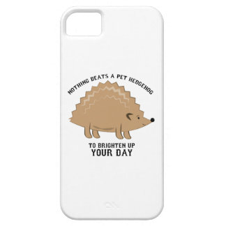 Nothing Beats a Hedgehog iPhone 5 Cover
