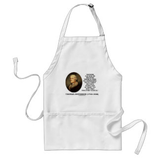 Nothing Believed Seen In A Newspaper Truth Quote Adult Apron