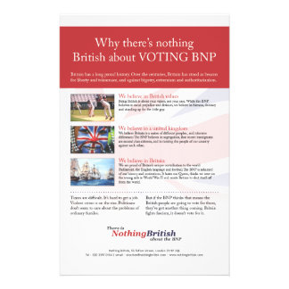Nothing British Values flyer