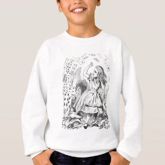 Nothing but a pack of cards ! Alice in Wonderland Sweatshirt