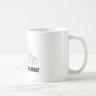 Nothing But A Statistical Anomaly (Stats Humor) Coffee Mug