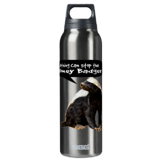 Nothing Can Stop the Honey Badger! (He speaks) 0.5 Litre Insulated SIGG Thermos Water Bottle