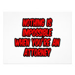 Nothing Is Impossible...Attorney Personalised Invite