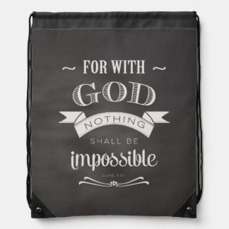 Nothing Is Impossible Backpack