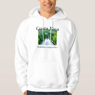 Nothing is impossible!, Costa Rica Hoodie