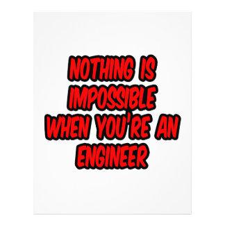 Nothing Is Impossible...Engineer Custom Flyer
