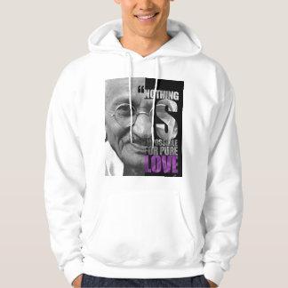 Nothing Is Impossible Ghandi Sweatshirt