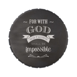 Nothing is Impossible Candy Tin