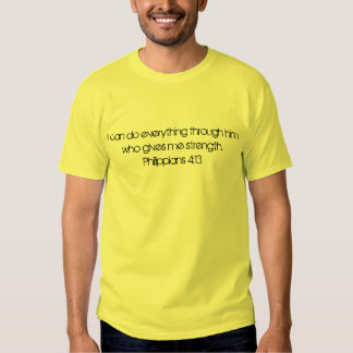 Nothing is impossible tshirts