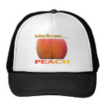 Nothing Like A Great Peach. Funny Snapback Hat Cap