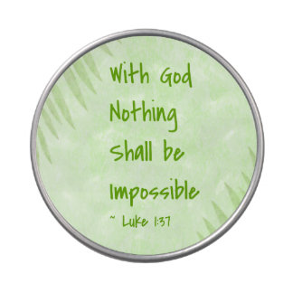 Nothing Shall Be Impossible Palm Jelly Belly Candy Tins