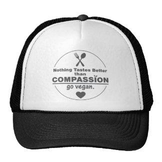 Nothing Tastes Better Than Compassion Go Vegan Trucker Hats