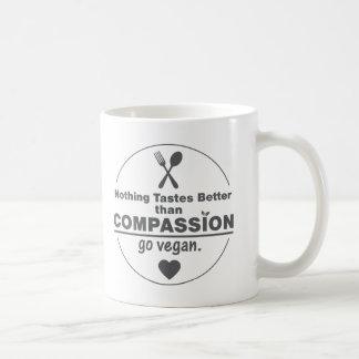 Nothing Tastes Better Than Compassion Go Vegan Mug