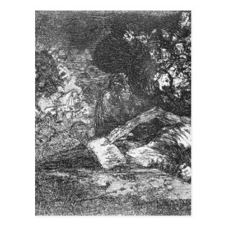 Nothing. The event will tell by Francisco Goya Postcard