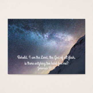 Nothing's Impossible with God Inspiration Card