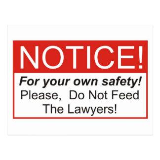 Notice / Lawyer Postcard