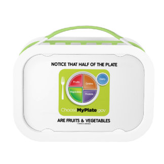 Notice That Half The Plate Are Fruits Vegetables Lunch Boxes