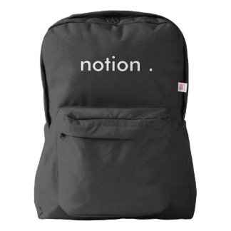 notion bag backpack