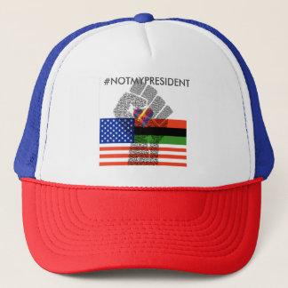 #NOTMYPRESIDENT TRUCKER HAT