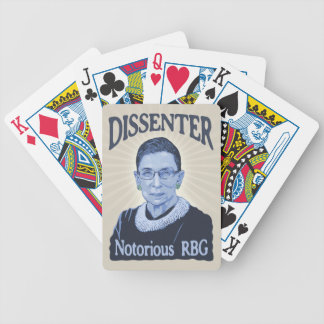 Notorious Dissenter Bicycle Playing Cards